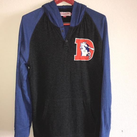 46825b58e2d Mitchell & Ness Shirts | Nfl Denver Broncos Hoodie | Poshmark